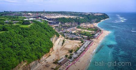 Пляж Пандава (Pandawa beach, или Pantai Pandawa)