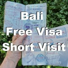 Безвизовый режим на Бали