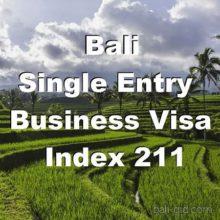 Бизнес-виза 211 на Бали